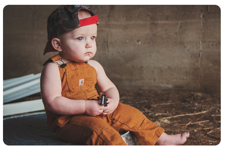 Easton - 1-Year Portraits